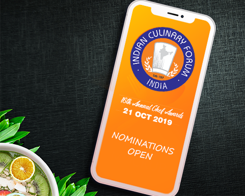 16TH ANNUAL CHEF AWARDS 2019 - NOMINATIONS OPEN
