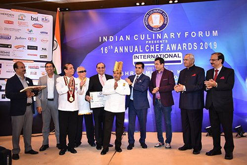 ICF Recognizes The First Resident Chef Of Rashtrapati Bhavan