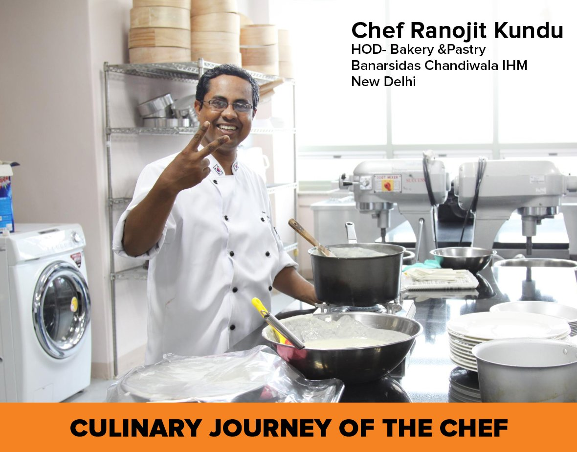 Success is our journey and not a destination - Chef Ranojit Kundu