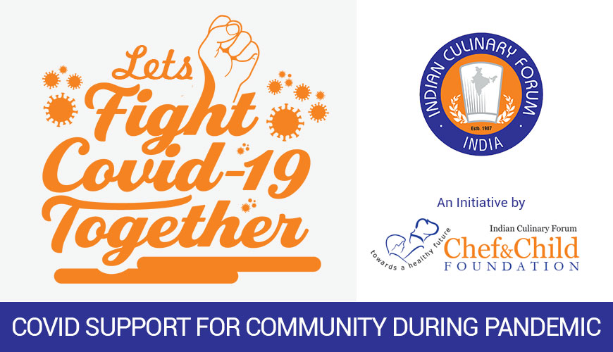 ICF Chef & Child Foundation took an initiative for Covid Support